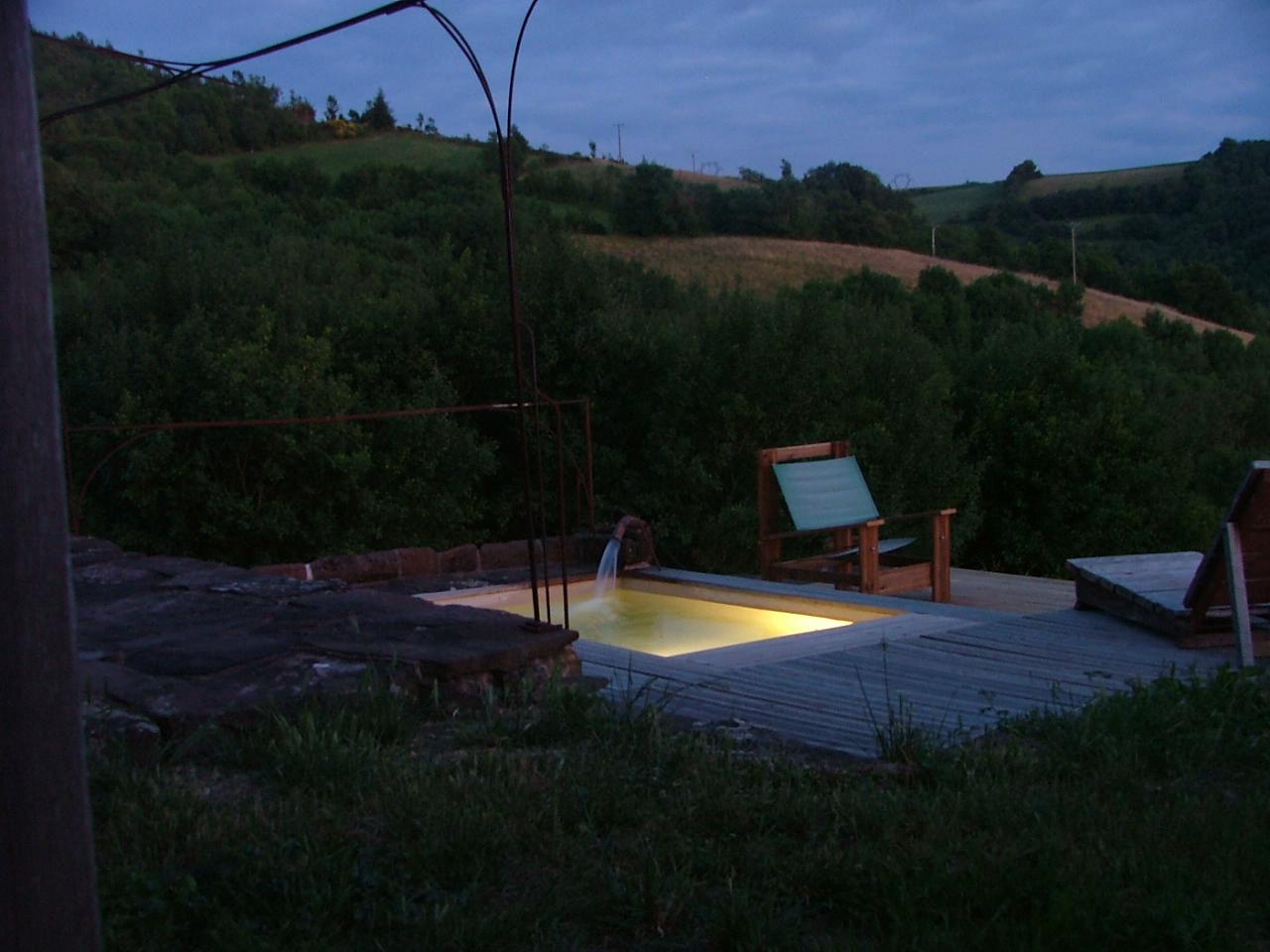 V maison bassin